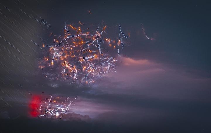 perierga.gr - Συγκλονιστική έκρηξη ηφαιστείου στη Χιλή!