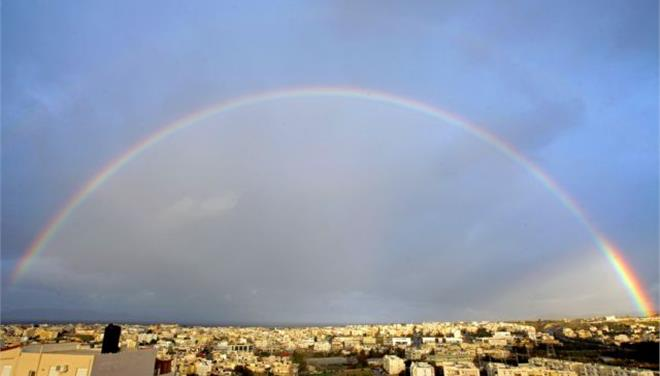 perierga.gr - Σπάνιο θέαμα στον ουρανό της Κρήτης!