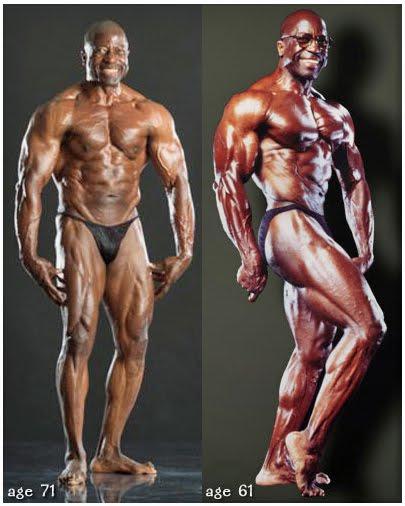 perierga.gr - Αθλητής του bodybuilding ετών 78!