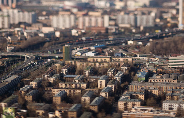 perierga.gr - Η Μόσχα σε... μικρογραφία!