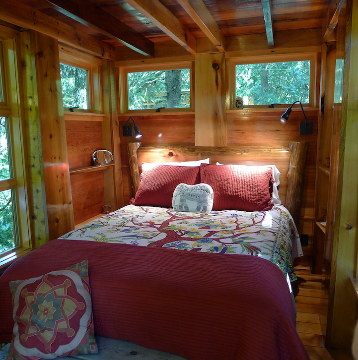 perierga.gr - Treehouse Point: Δωμάτια ξενοδοχείου ανάμεσα στα δέντρα!