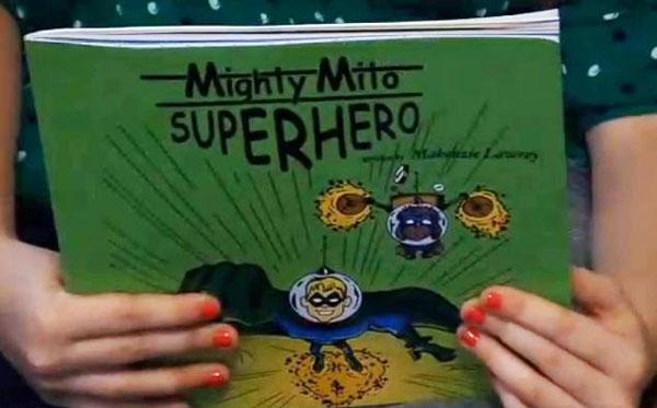perierga.gr - 9χρονη γράφει βιβλίο για να σώσει τον αδερφό της!