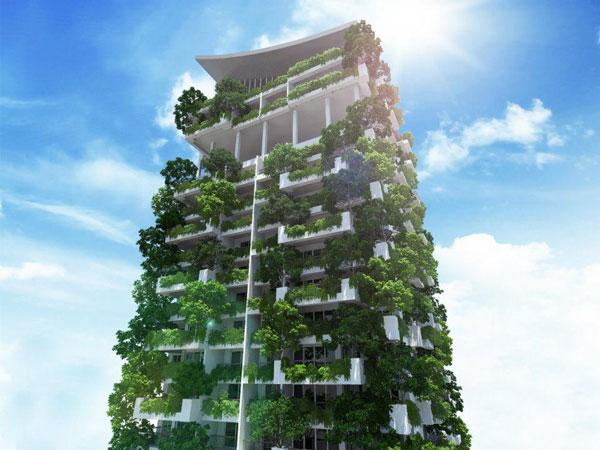 """perierga.gr - Ο ψηλότερος """"κάθετος κήπος"""" στον κόσμο!"""