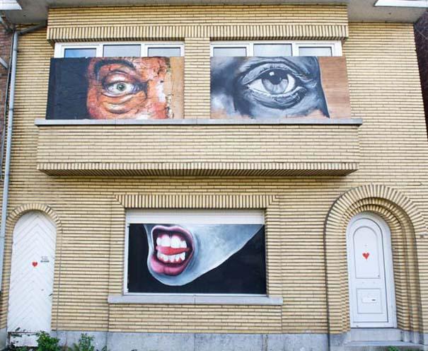 perierga.gr - Το εγκαταλειμμένο χωριό των γκράφιτι!