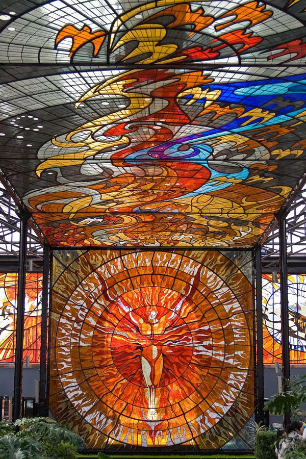 perierga.gr - Ένα αστικό θερμοκήπιο… έργο Τέχνης!