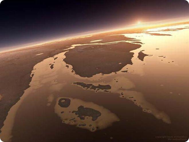 perierga.gr - Κοιτώντας το ηλιοβασίλεμα από τον... Άρη!