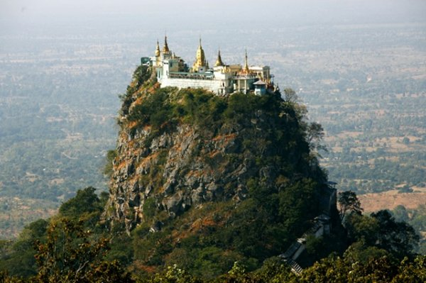 perierga.gr - Μοναστήρια σε δυσπρόσιτες τοποθεσίες!
