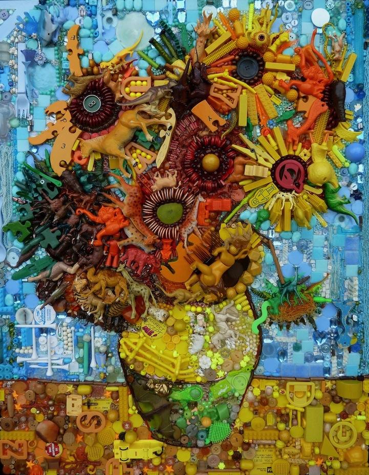 perierga.gr - Κλασικά έργα τέχνης αναδημιουργούνται με διάφορα αντικείμενα!