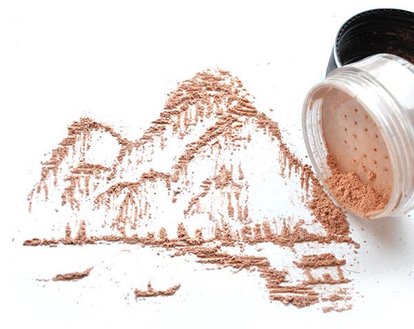 perierga.gr - Απίθανα έργα τέχνης με προϊόντα μακιγιάζ!