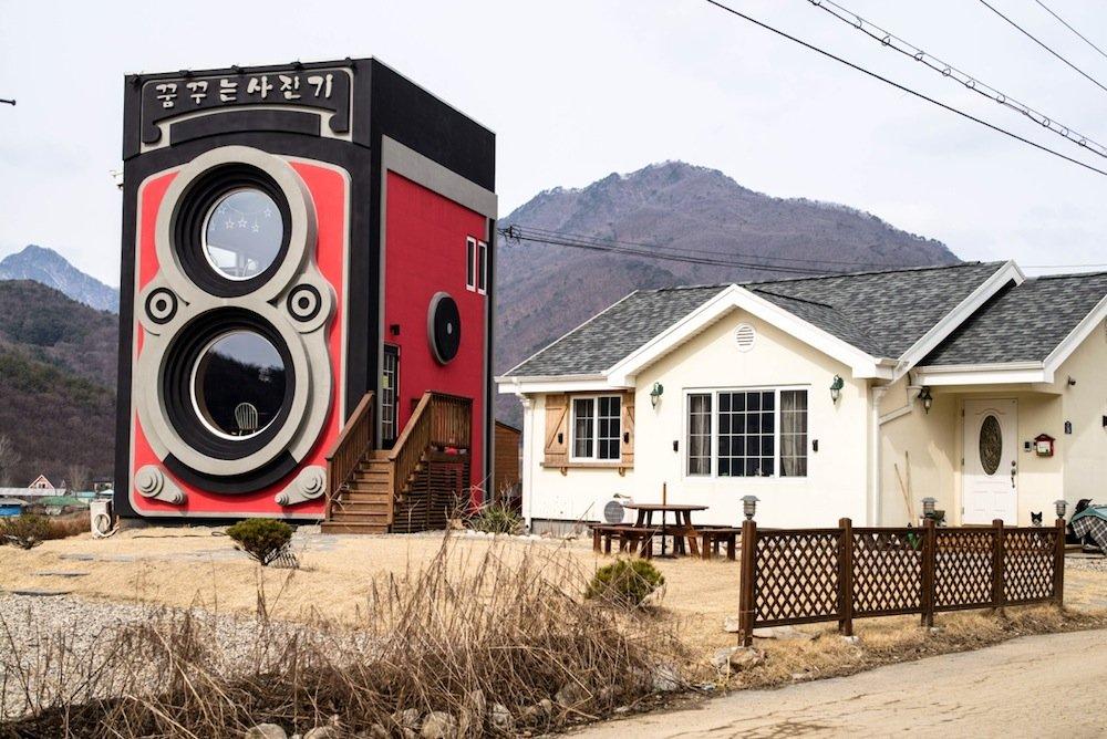 perierga.gr - Καφετέρια σε σχήμα... φωτογραφικής μηχανής!