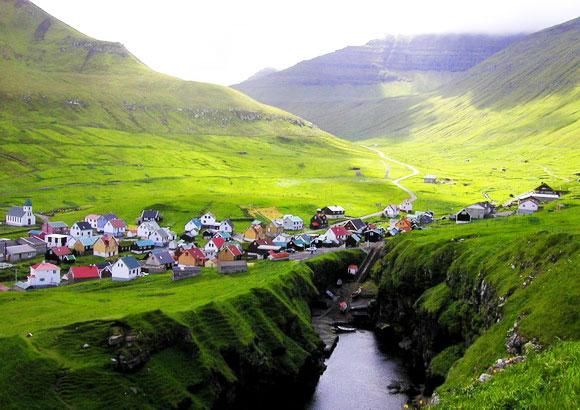 perierga.gr - Τα παραμυθένια χωριά των Νησιών Φερόες