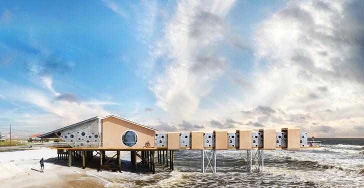 perierga.gr - Φουτουριστικές κατοικίες ασφαλείς σε τυφώνες!