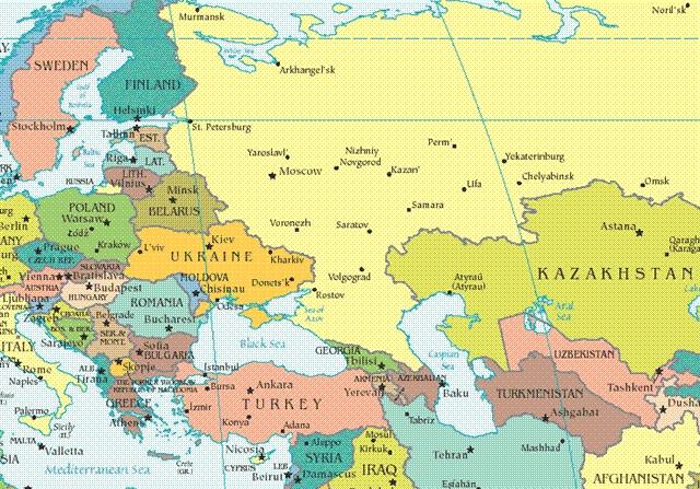 Perierga.gr - Οι χώρες με τα περισσότερα σύνορα