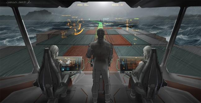 Perierga.gr - Εικόνα από το μέλλον της ναυσιπλοΐας