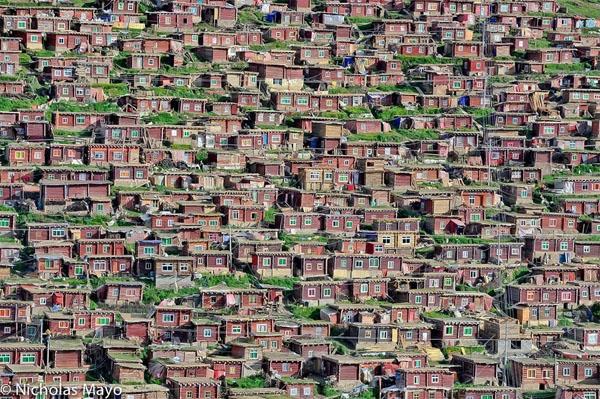 Perierga.gr - Εκπληκτικές εικόνες από το μεγαλύτερο ίδρυμα βουδισμού!