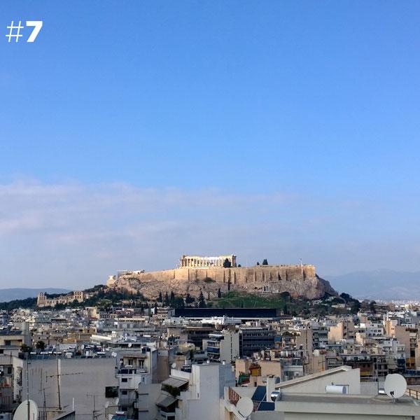 perierga.gr - 100 φωτογραφίες της Ακρόπολης από 100 ταράτσες της Αθήνας!