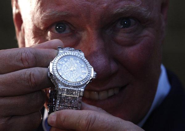 perierga.gr - Το ακριβότερο ρολόι στον κόσμο!
