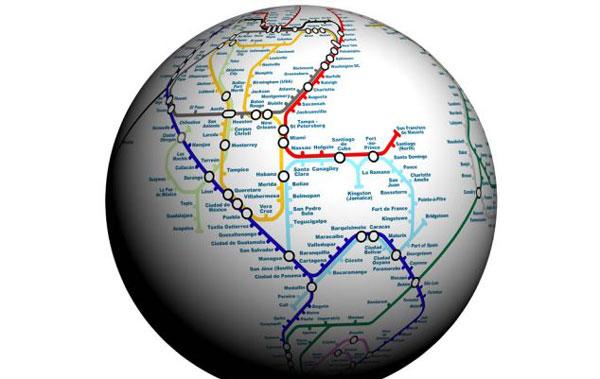perierga.gr - Ο γύρος του κόσμου κάτω από την επιφάνεια της Γης!