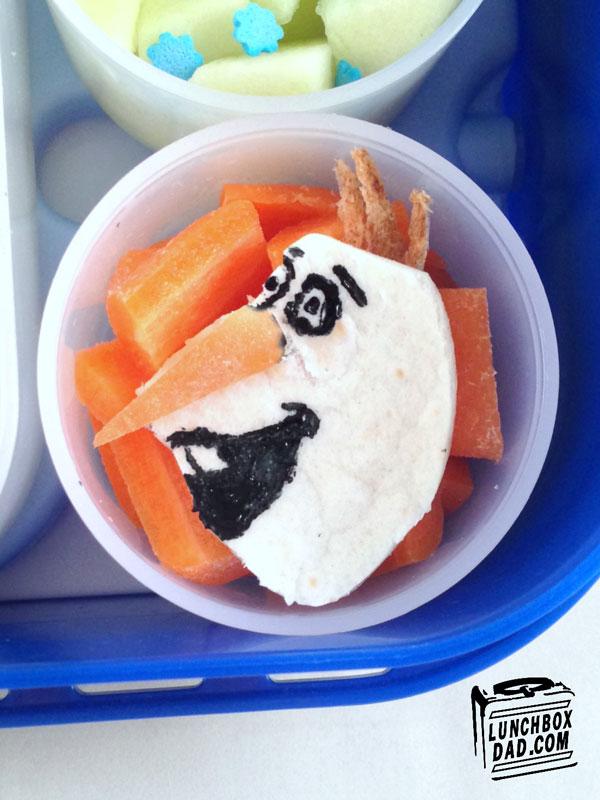 perierga.gr - Μπαμπάς φτιάχνει ευφάνταστα σχολικά γεύματα για την κόρη του!