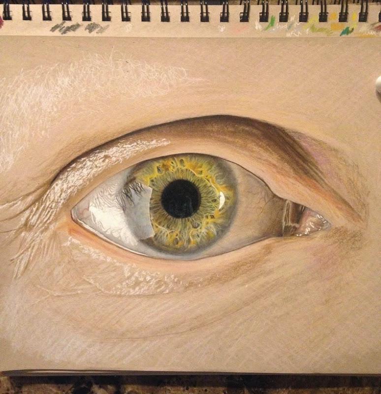 perierga.gr - Ζωγραφίζοντας... μάτια σαν αληθινά!