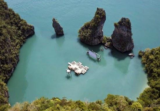 perierga.gr - 10 εκπληκτικής ομορφιάς αξιοθέατα που επιπλέουν στο νερό!