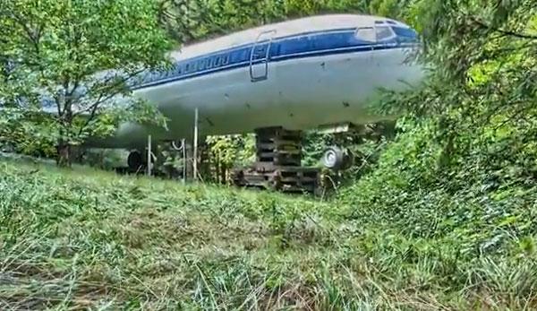 Παλιό αεροπλάνο της Ολυμπιακής γίνεται σπίτι!VIDEO