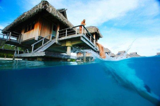 perierga.gr - Εξωτικός παράδεισος πάνω στο νερό!