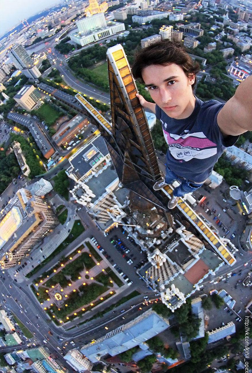 perierga.gr - Όταν κοιτάς από ψηλά... τρομάζεις!