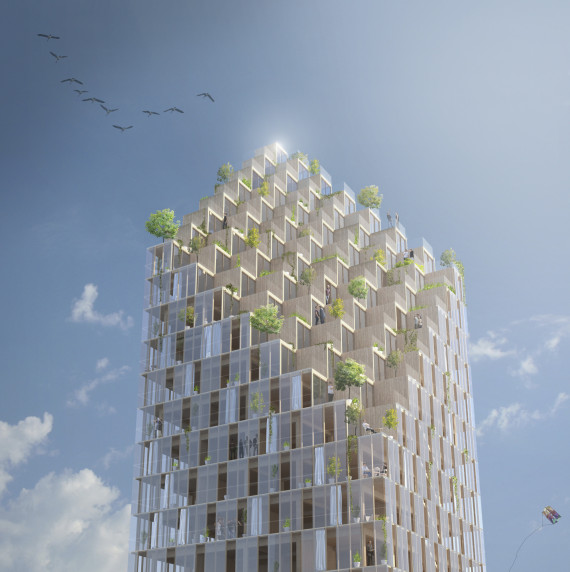 perierga.gr - Ο μεγαλύτερος ξύλινος ουρανοξύστης εντυπωσιάζει!