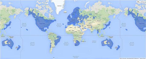 Perierga.gr - Ενδιαφέροντα στοιχεία του κόσμου σε χάρτες