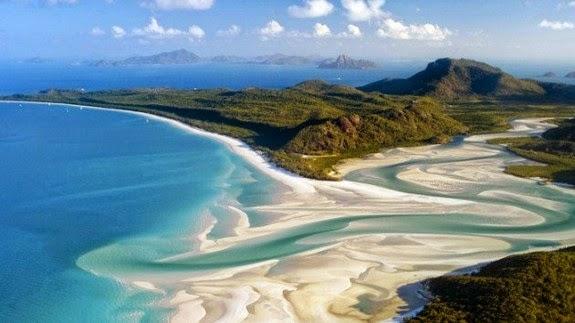perierga.gr - 8 πανέμορφες παραλίες με λευκή άμμο που αξίζει να δείτε!