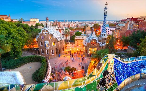 perierga.gr - Δείτε τη Βαρκελώνη μέσα σε 2 λεπτά!