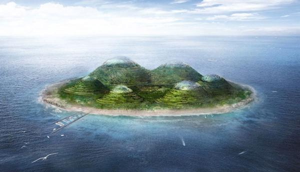 perierga.gr - HavvAda: Τεχνητό νησί στα παράλια της Κωνσταντινούπολης!