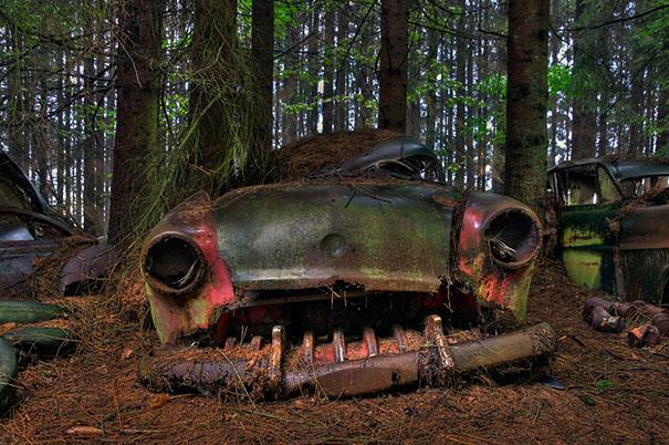 perierga.gr - Το μεγαλύτερο νεκροταφείο αυτοκινήτων στον κόσμο!