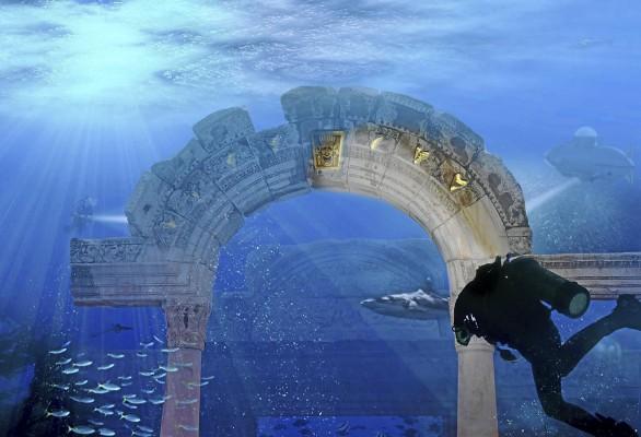 perierga.gr - Υποβρύχιο θεματικό πάρκο προετοιμάζεται στο Ντουμπάι