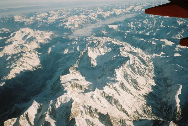 Perierga.gr - Η καλύτερη θέα από το πιλοτήριο αεροπλάνου