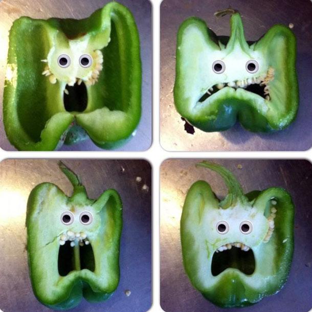 Perierga.gr - Όταν οι πιπεριές αποκτούν… ανθρώπινη όψη