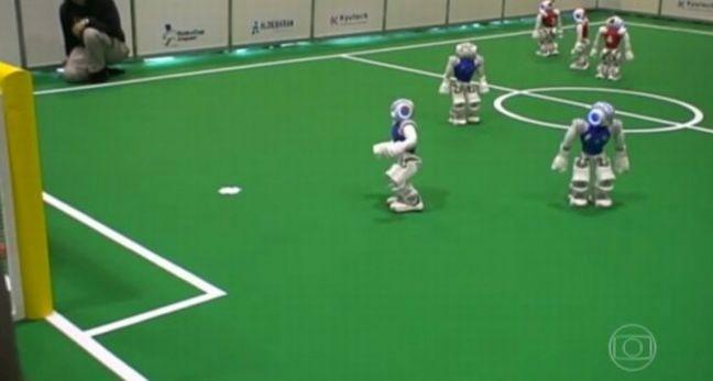 Perierga.gr - Ξεκινά το ρομποτικό παγκόσμιο κύπελλο ποδοσφαίρου!