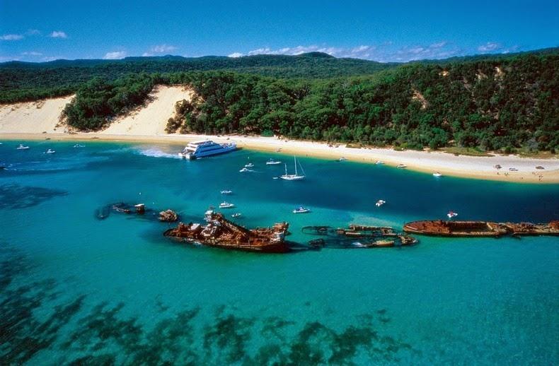 perierga.gr - Η πανέμορφη παραλία των ναυαγίων!