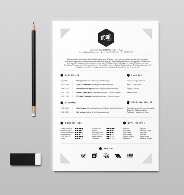 Perierga.gr - Βιογραφικά σημειώματα με ευρηματική σχεδίαση