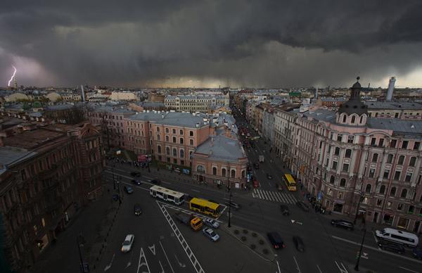 perierga.gr - Η πανέμορφη Αγία Πετρούπολη από ψηλά!