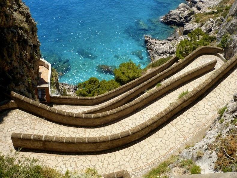 perierga.gr - Via Krupp: Ένα από τα πιο όμορφα μονοπάτια του κόσμου!