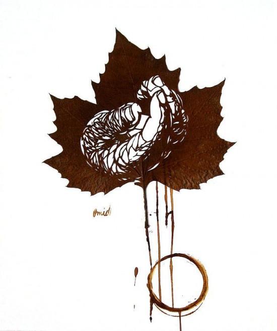perierga.gr - Μικρά αριστουργήματα πάνω σε φύλλα!