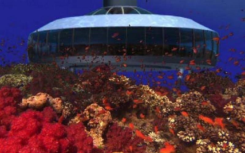 perierga.gr - Το πρώτο υποβρύχιο σπίτι είναι γεγονός!