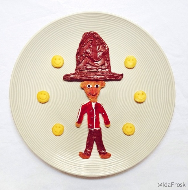 perierga.gr - Γευστικοί… πίνακες ζωγραφικής στο πιάτο!