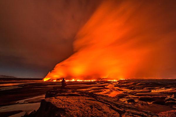 perierga.gr - Πανέμορφες εικόνες από έκρηξη ηφαιστείου στην Ισλανδία!