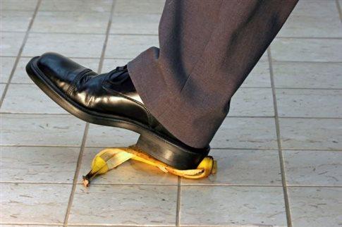 perierga.gr - Βραβείο Ig Nobel σε έρευνα για το γλίστρημα σε μπανανόφλουδες!