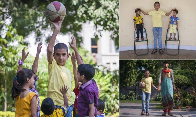 perierga.gr - Αυτός είναι ο πιο ψηλός 5χρονος του κόσμου!