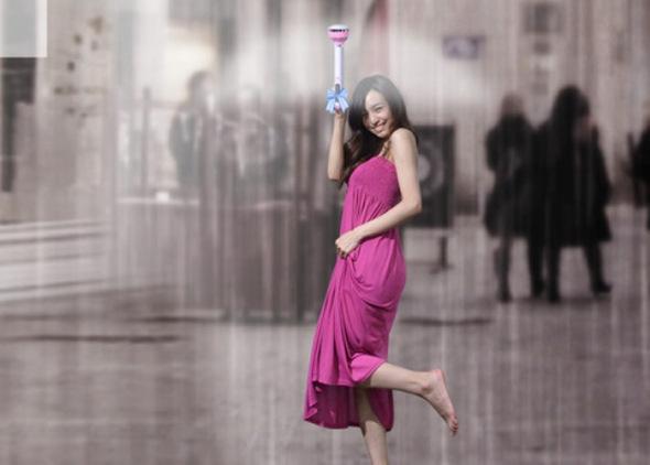 perierga.gr - Αόρατη ομπρέλα διώχνει τη βροχή!