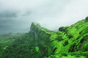 Όλες οι αποχρώσεις του πράσινου σε ένα βουνό!
